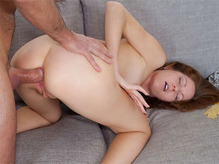 Youthfull damsel gets some ass-fuck and a popshot