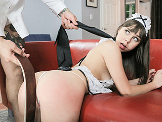 Servicing The Maid
